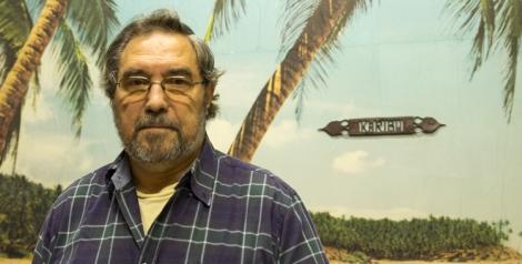 Antonio Díaz de Freijo, durante su entrevista con M*. (Foto: Álvaro Alonso)
