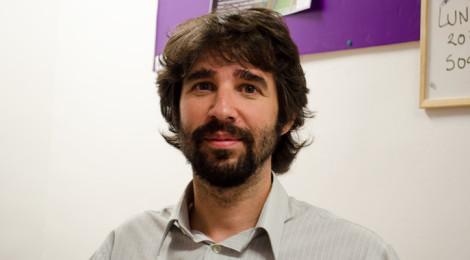 Lluc Sánchez (SOS Racismo) (Foto: Miguel Ángel Moreno)